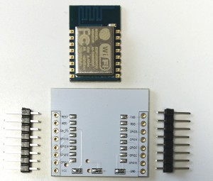 ESP8266-12 adapter plate