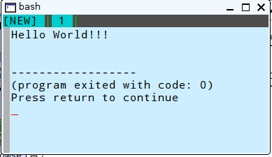 execute-helloworld